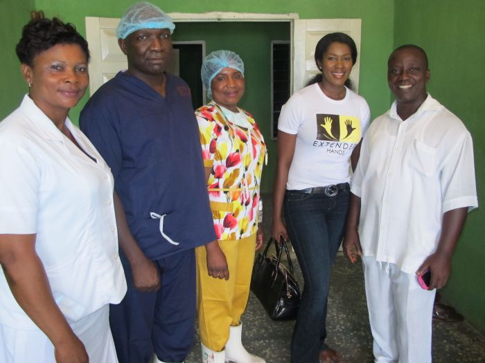 Stephanie Linus' Extended Hands Foundation VVF Project002
