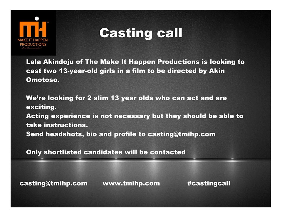 MIHP Casting Call