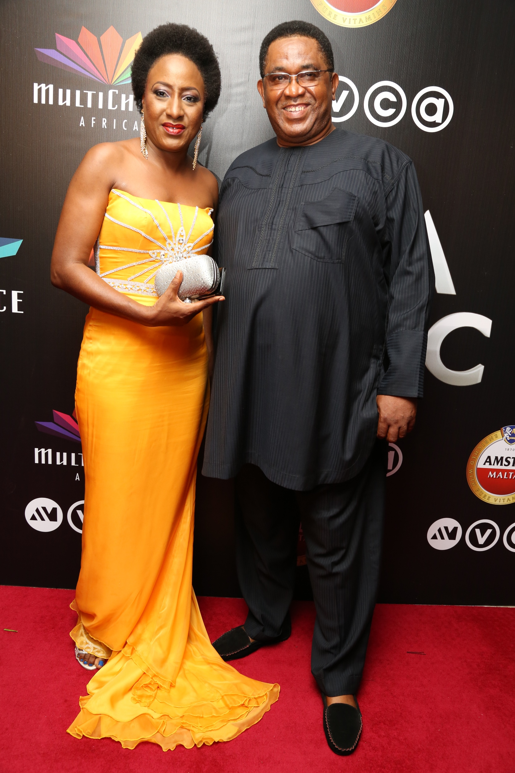Iretiola and Patrick Doyle