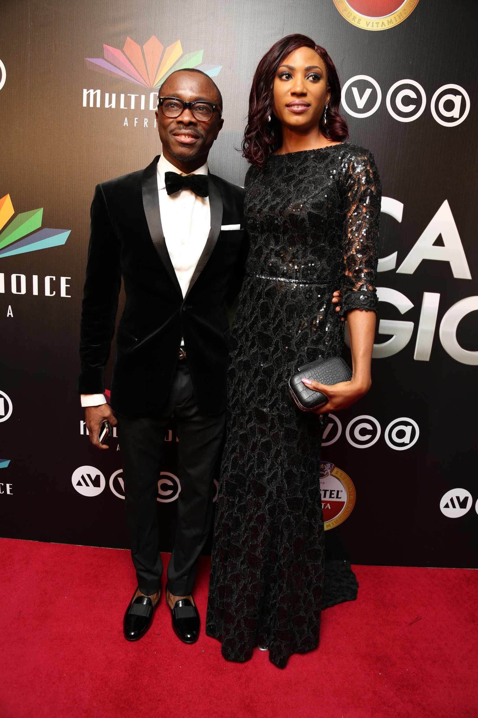 Julius Agwu and wife