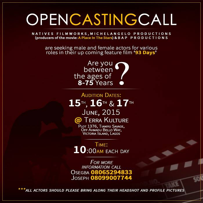 Casting Call for feature film