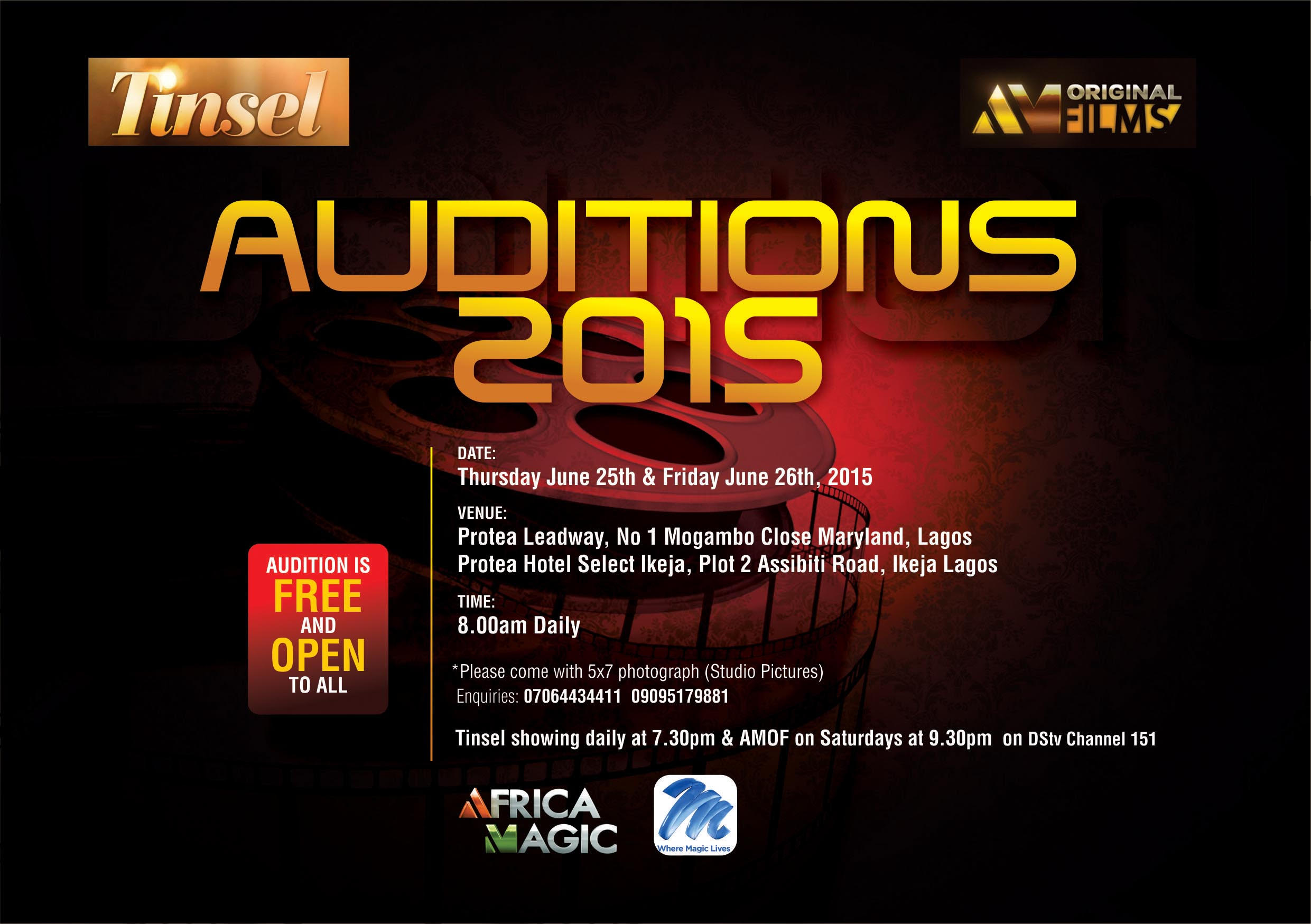 Tinsel Audition
