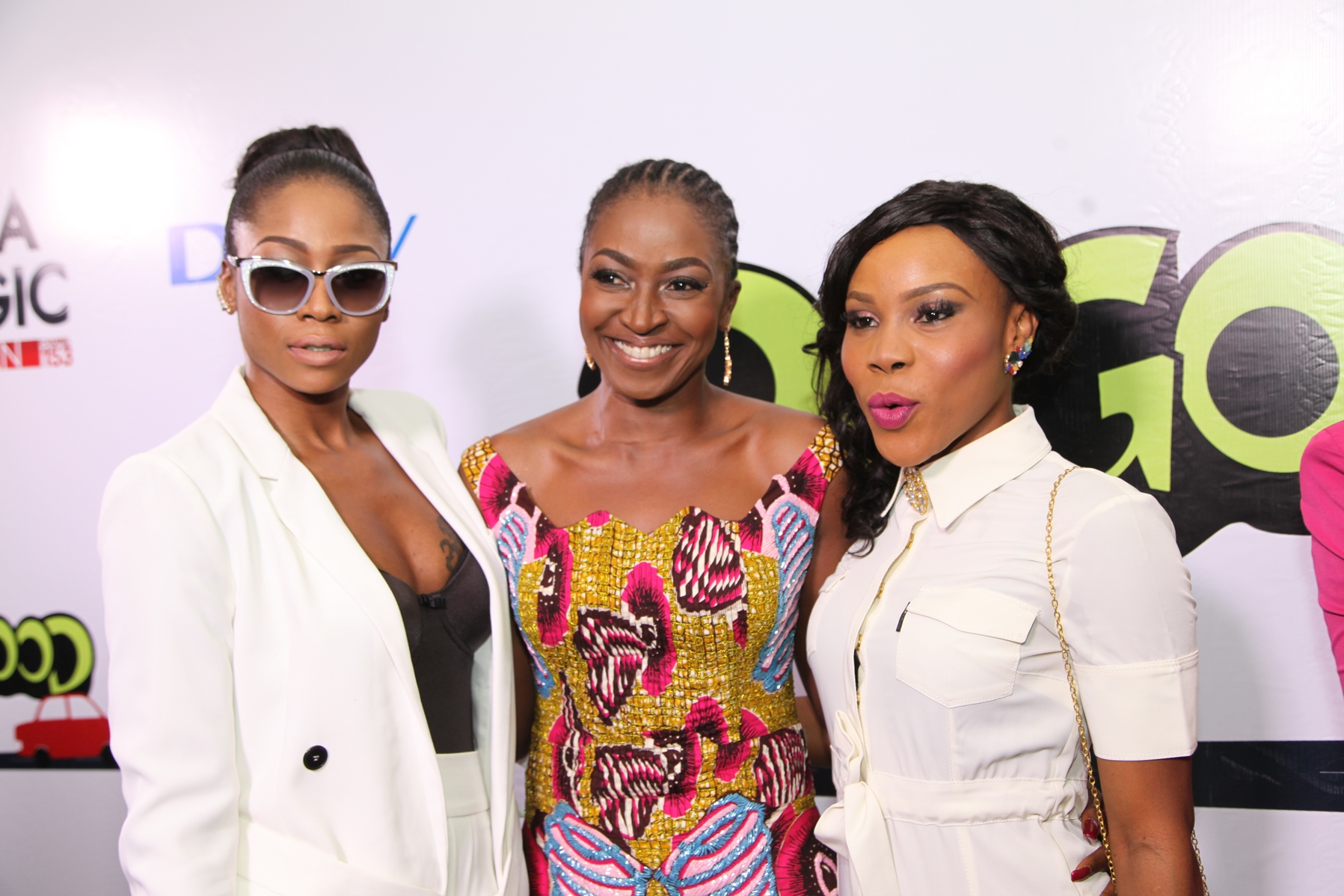Cast members: Lilian Afegbai, Kate Henshaw and Uzor Osimkpa