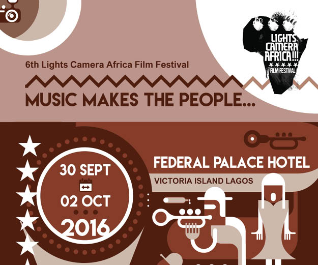 6th Lights Camera Africa Festival Advert Nolly Silver Screen