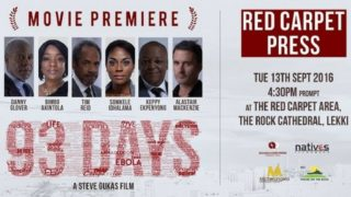 93 Days Nigerian Premiere House On The Rock Nolly Silver Screen